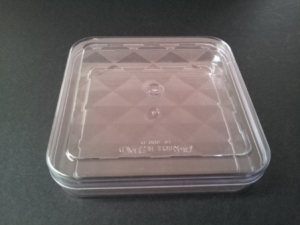 SQUARE CLEAR CONTAINER