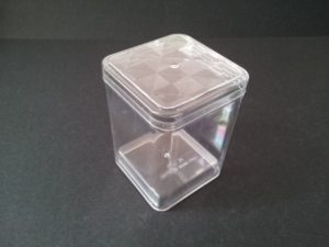 RECTANGLE CLEAR CONTAINER