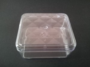 CLEAR COOKIE CONTAINER